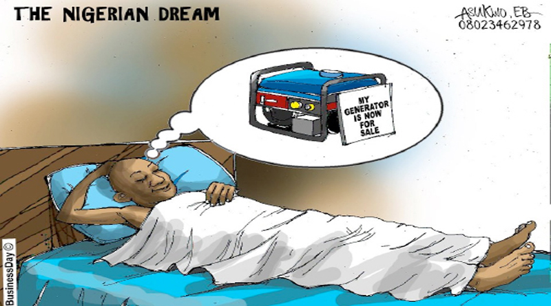 The Nigerian dream. Credit: Asukwo, EB